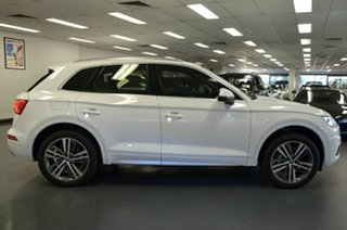2017 Audi Q5 FY MY17 TFSI S Tronic Quattro Ultra Sport White 7 Speed Sports Automatic Dual Clutch.