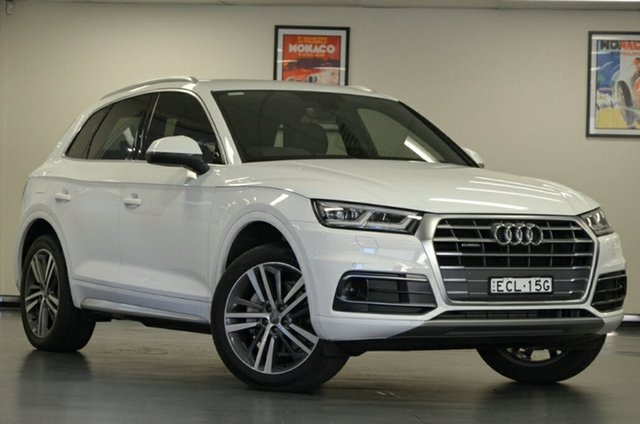 Used Audi Q5 FY MY17 TFSI S Tronic Quattro Ultra Sport, 2017 Audi Q5 FY MY17 TFSI S Tronic Quattro Ultra Sport White 7 Speed Sports Automatic Dual Clutch