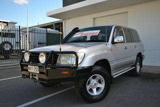 1999 Toyota Landcruiser HZJ105R RV (4x4) Silver 5 Speed Manual 4x4 Wagon.