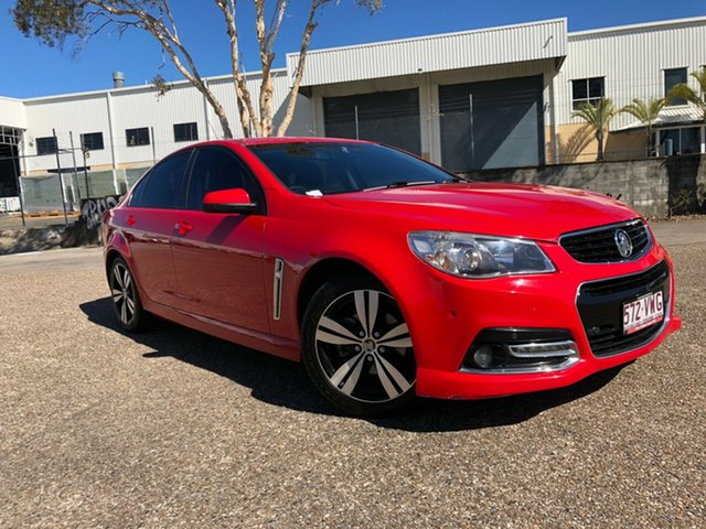 Used Holden Commodore VF MY14 SV6 Storm, 2014 Holden Commodore VF MY14 SV6 Storm Red 6 Speed Sports Automatic Sedan
