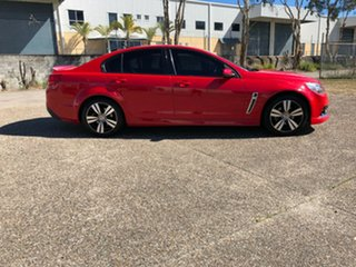 2014 Holden Commodore VF MY14 SV6 Storm Red 6 Speed Sports Automatic Sedan.
