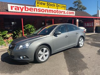 2009 Holden Cruze 1.8 Bronze 5 Speed Automatic Sedan