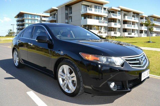 Used Honda Accord Euro CU Luxury, 2009 Honda Accord Euro CU Luxury Black 5 Speed Automatic Sedan