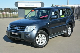 2009 Mitsubishi Pajero NT MY09 GLS Grey 5 Speed Sports Automatic Wagon.