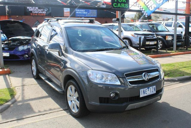 Used Holden Captiva CG MY10 LX (4x4), 2010 Holden Captiva CG MY10 LX (4x4) Grey 5 Speed Automatic Wagon