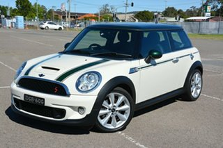 2012 Mini Hatch R56 LCI Cooper S Steptronic Green Park White 6 Speed Sports Automatic Hatchback.