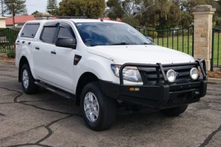 2012 Ford Ranger PX XL 2.2 Hi-Rider (4x2) White 6 Speed Automatic Crew Cab Pickup.
