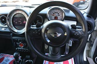 2012 Mini Hatch R56 LCI Cooper S Steptronic Green Park White 6 Speed Sports Automatic Hatchback
