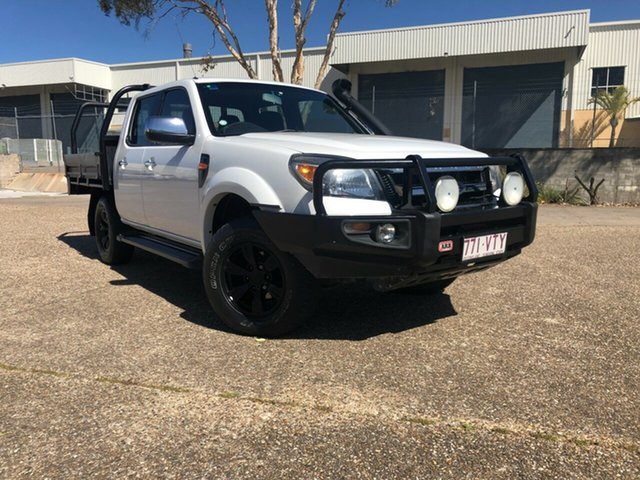 Used Ford Ranger PK XLT Crew Cab, 2010 Ford Ranger PK XLT Crew Cab White 5 Speed Automatic Utility