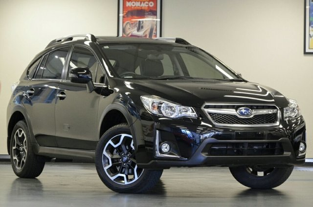 Used Subaru XV G4X MY17 2.0i-S Lineartronic AWD, 2016 Subaru XV G4X MY17 2.0i-S Lineartronic AWD Crystal Black 6 Speed Constant Variable Wagon