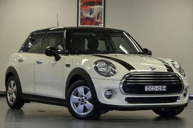Used Mini Hatch F55 Cooper, 2015 Mini Hatch F55 Cooper Pepper White 6 Speed Automatic Hatchback