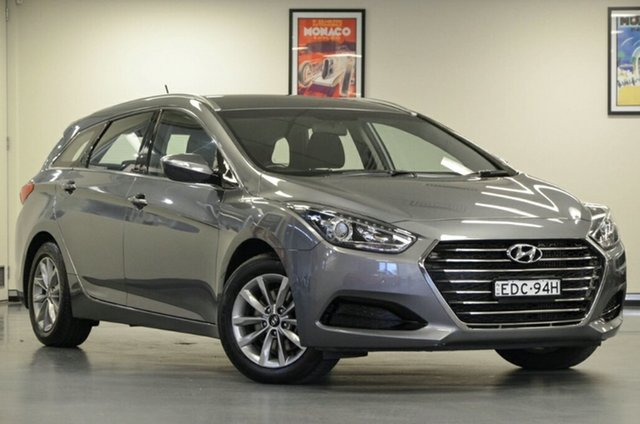 Used Hyundai i40 VF4 Series II Active Tourer D-CT, 2016 Hyundai i40 VF4 Series II Active Tourer D-CT Grey 7 Speed Sports Automatic Dual Clutch Wagon