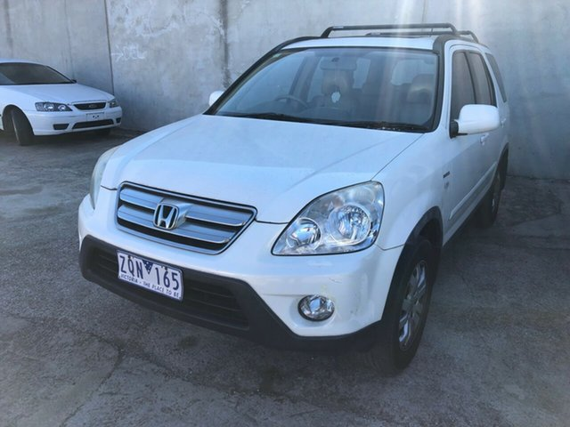 Used Honda CR-V 2005 Upgrade (4x4) Sport, 2005 Honda CR-V 2005 Upgrade (4x4) Sport White 5 Speed Automatic Wagon
