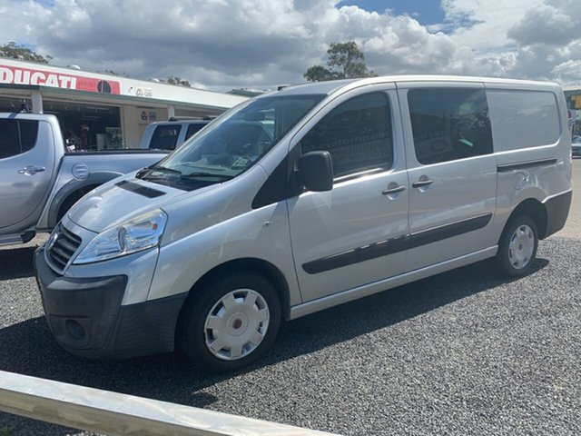 Used Fiat Scudo  , 2010 Fiat Scudo 120 MULTIJET 2.0 diesel 5 seater Silver 6 Speed Manual Van