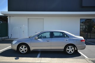 2005 Honda Accord 40 VTi Silver 5 Speed Automatic Sedan.