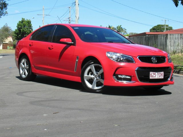 Used Holden Commodore VF II MY16 SV6, 2016 Holden Commodore VF II MY16 SV6 Red 6 Speed Sports Automatic Sedan