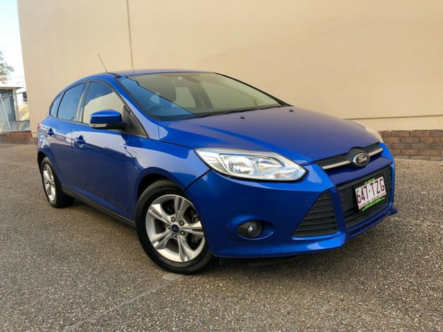 Used Ford Focus LW MkII Trend, 2014 Ford Focus LW MkII Trend Blue 5 Speed Manual Hatchback