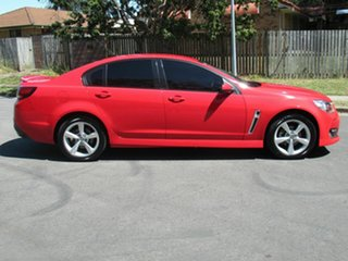 2016 Holden Commodore VF II MY16 SV6 Red 6 Speed Sports Automatic Sedan.
