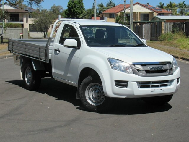 Used Isuzu D-MAX MY15 EX, 2015 Isuzu D-MAX MY15 EX White 5 Speed Manual Cab Chassis
