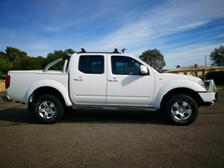 2011 Nissan Navara D40 ST (4x4) White 5 Speed Automatic Dual Cab Pick-up.