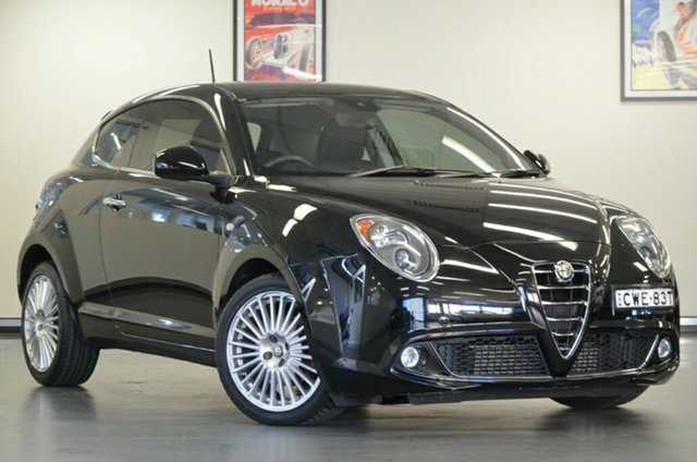 Used Alfa Romeo Mito Series 2 Distinctive TCT, 2014 Alfa Romeo Mito Series 2 Distinctive TCT Black 6 Speed Sports Automatic Dual Clutch Hatchback