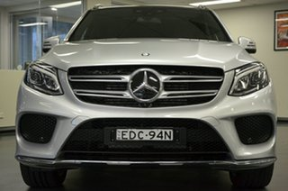 2016 Mercedes-Benz GLE-Class W166 807MY GLE350 d 9G-Tronic 4MATIC Silver 9 Speed Sports Automatic