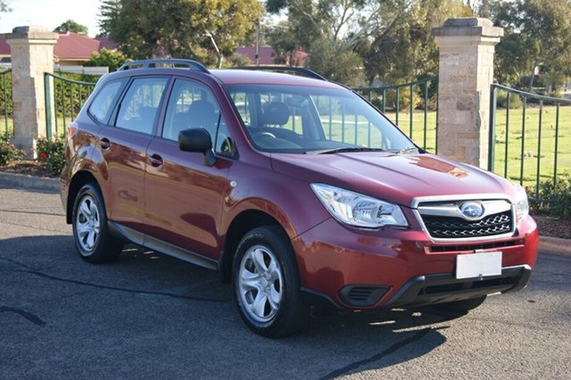 Used Subaru Forester MY14 2.5I, 2014 Subaru Forester MY14 2.5I Burgundy Continuous Variable Wagon