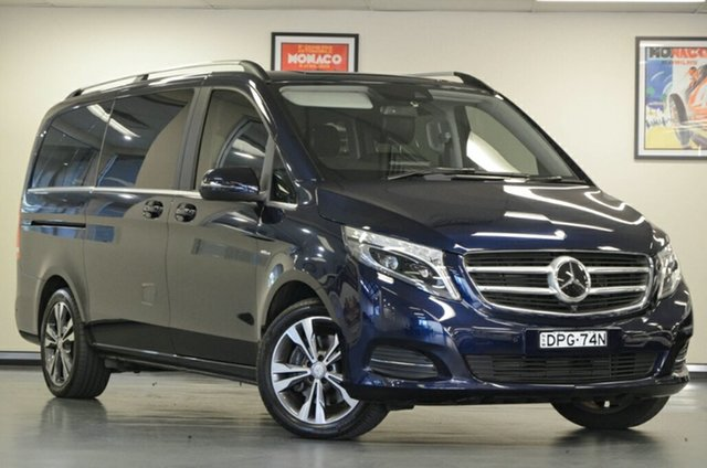 Used Mercedes-Benz V250 447 d 7G-Tronic + Avantgarde, 2017 Mercedes-Benz V250 447 d 7G-Tronic + Avantgarde Blue 7 Speed Sports Automatic Wagon