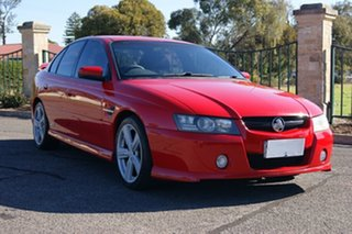 2004 Holden Commodore VZ SS Red 4 Speed Automatic Sedan.