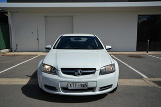 2008 Holden Commodore VE MY09 Omega White 4 Speed Automatic Sportswagon.