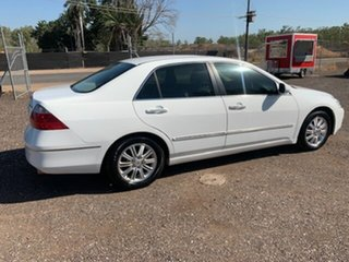 2006 Honda Accord V6 VTEC White 4 Speed Auto Active Select Sedan