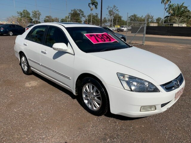 Used Honda Accord  , 2006 Honda Accord V6 VTEC White 4 Speed Auto Active Select Sedan