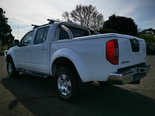 2011 Nissan Navara D40 ST (4x4) White 5 Speed Automatic Dual Cab Pick-up
