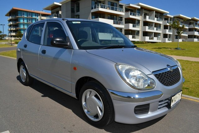 Used Daihatsu Sirion M100RS , 2003 Daihatsu Sirion M100RS Silver 4 Speed Automatic Hatchback