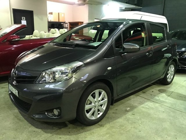 Used Toyota Yaris NCP131R YRX, 2013 Toyota Yaris NCP131R YRX Graphite 4 Speed Automatic Hatchback