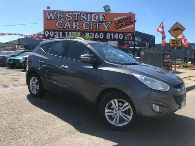 Used Hyundai ix35 LM Elite (AWD), 2010 Hyundai ix35 LM Elite (AWD) Grey 6 Speed Automatic Wagon