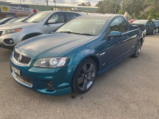 2012 Holden Commodore Ute SERIES II VE SS THUNDER 6 speed manual Turquoise 6 Speed Manual Utility.