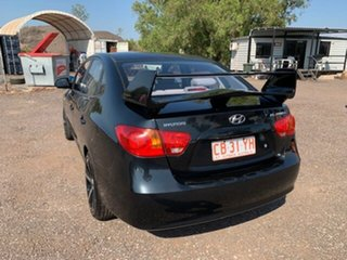 2008 Hyundai Elantra Black 5 Speed Manual Hatchback