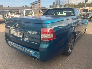 2012 Holden Commodore Ute SERIES II VE SS THUNDER 6 speed manual Turquoise 6 Speed Manual Utility
