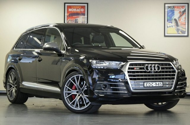 Used Audi SQ7 4M MY18 TDI Tiptronic, 2018 Audi SQ7 4M MY18 TDI Tiptronic Black 8 Speed Sports Automatic Wagon