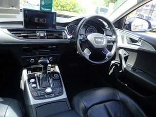2012 Audi A6 4G MY13 Multitronic Black Magic 1 Speed Constant Variable Sedan