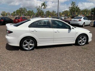 2006 Mazda 6 6 White 4 Speed Auto Active Select Hatchback