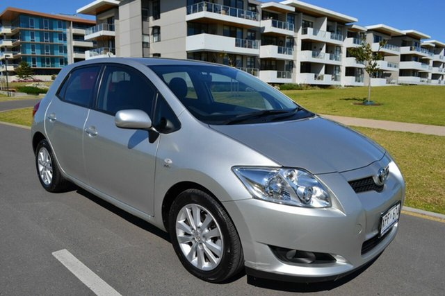 Used Toyota Corolla ZRE152R Conquest, 2007 Toyota Corolla ZRE152R Conquest Silver 4 Speed Automatic Hatchback
