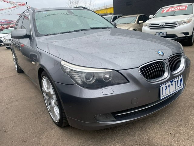 Used BMW 5 Series E61 MY07 530i Touring Steptronic, 2007 BMW 5 Series E61 MY07 530i Touring Steptronic Grey 6 Speed Sports Automatic Wagon