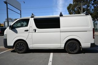 2007 Toyota HiAce TRH201R MY07 LWB White 5 Speed Manual Van.