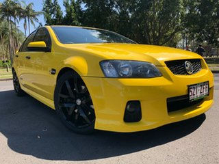 2010 Holden Commodore VE II SS V Yellow 6 Speed Sports Automatic Sedan.