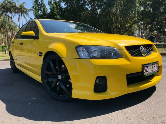 Used Holden Commodore VE II SS V, 2010 Holden Commodore VE II SS V Yellow 6 Speed Sports Automatic Sedan