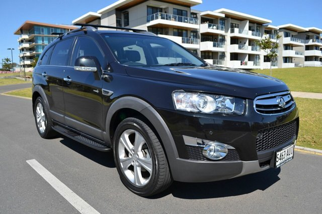 Used Holden Captiva CG Series II MY12 7 AWD LX, 2012 Holden Captiva CG Series II MY12 7 AWD LX Black 6 Speed Sports Automatic Wagon