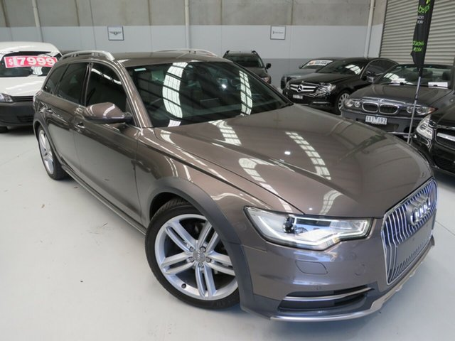Used Audi A6 4G MY13 Allroad S Tronic Quattro, 2012 Audi A6 4G MY13 Allroad S Tronic Quattro Dakota Grey 7 Speed Sports Automatic Dual Clutch Wagon