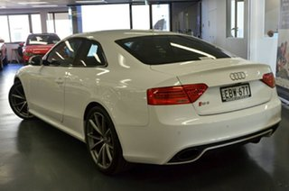 2015 Audi RS5 8T MY15 S Tronic Quattro Ibis White 7 Speed Sports Automatic Dual Clutch Coupe.